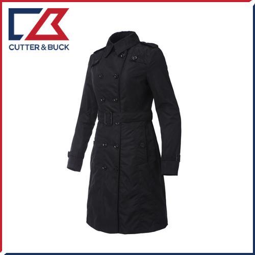 커터앤벅 여성 버튼포인트 트렌치 롱 코트/자켓 - SL-12-171-206-51