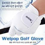 [카시야] 웰팝 세탁가능 0402원단 기능성 남성 골프장갑