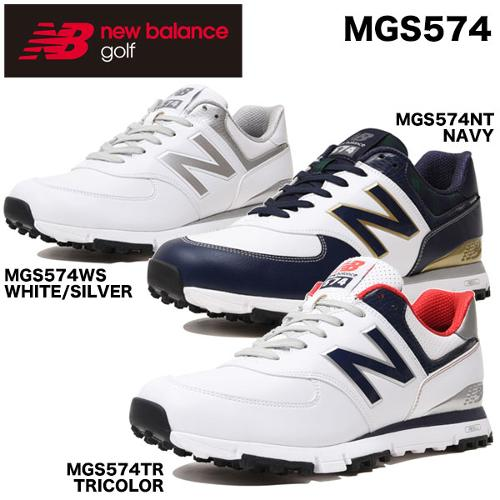 [해외구매대행] 뉴발란스 남여 스파이크 레스 골프화 MGS574 (2018제품) 남여공용