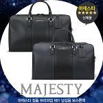 마제스티 정품 프리미엄 R81 남성용 보스톤백/옷가방