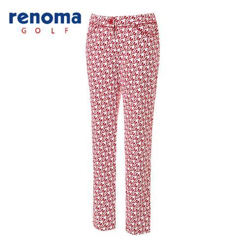 [레노마골프]여성 캐주얼 패턴 팬츠 RAPT60611-RD