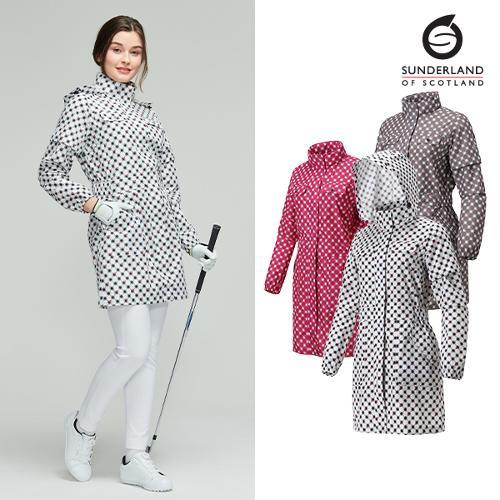 선덜랜드 여성 심실링 후드 사파리비옷 - 16912RC63