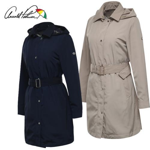 [아놀드파마] 허리벨트 여성 탈부착 패딩안감 트렌치코트/바람막이 자켓/골프웨어_243670