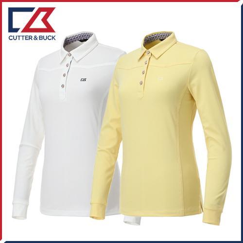 커터앤벅 여성 스판 긴팔티셔츠 - PB-11-191-201-05