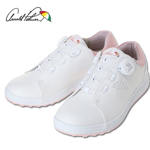 [아놀드파마] 그린힐 스파이크리스 여성 보아시스템 골프화/골프용품(화이트)_243618