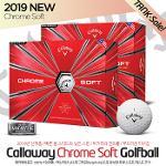 (19 NEW) 캘러웨이 정품 크롬소프트 그래핀 4피스 골프볼