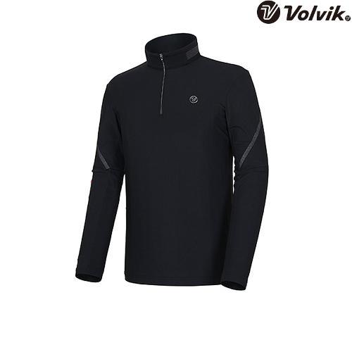 [볼빅브이닷] 남성 수알로킨 티셔츠 VMTSI205_BK