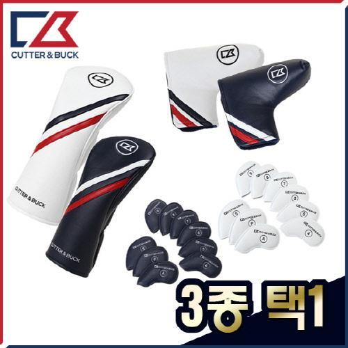 커터앤벅 국내생산 최고급 프리미엄 클럽커버/헤드커버 3종 택1