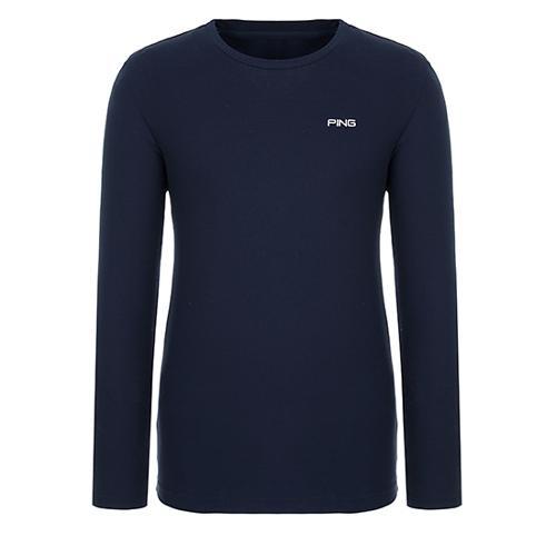 [핑]남성 솔리드 라운드넥 티셔츠 11291TR921_NA