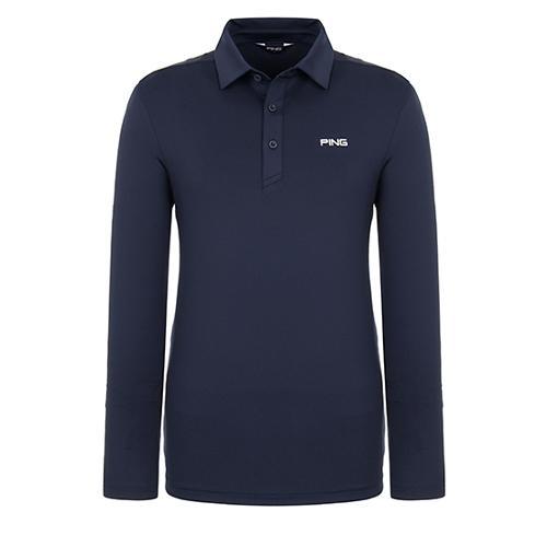 [핑]남성 메쉬 믹스 솔리드 티셔츠 11291TO902_NA