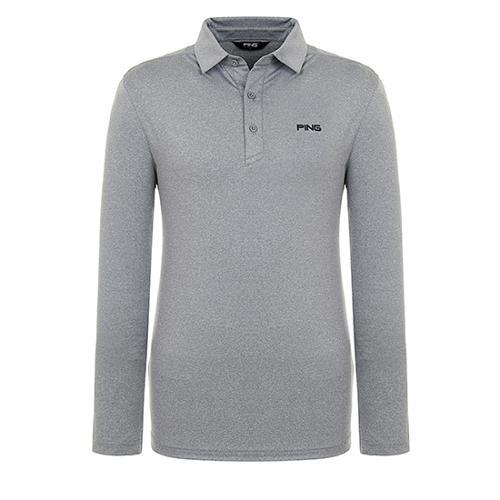 [핑]남성 메쉬 믹스 솔리드 티셔츠 11291TO902_MG