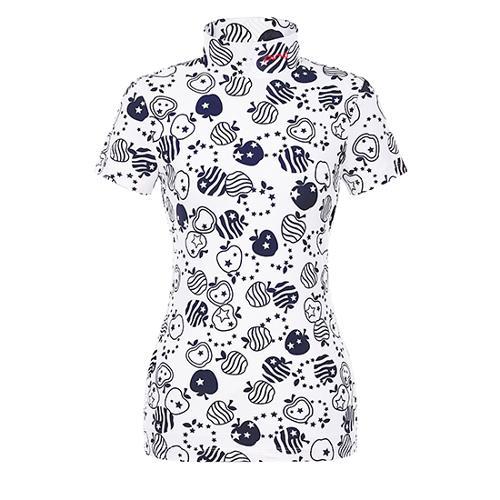 [핑]여성 올오버 프린트 반팔 이너 티셔츠 12291TI964_NA