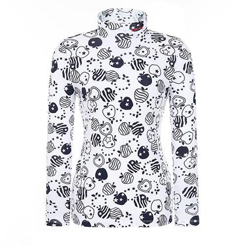 [핑]여성 사과 프린트 이너 티셔츠 12291TI963_NA