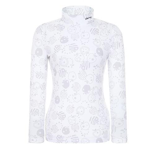[핑]여성 사과 프린트 이너 티셔츠 12291TI963_GY
