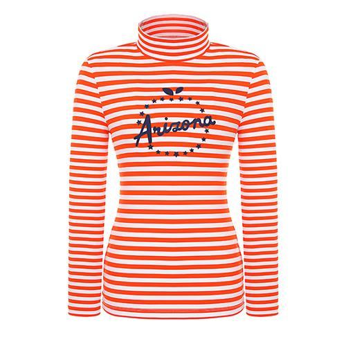 [핑]여성 스트라이프 이너 티셔츠 12291TI957_OR