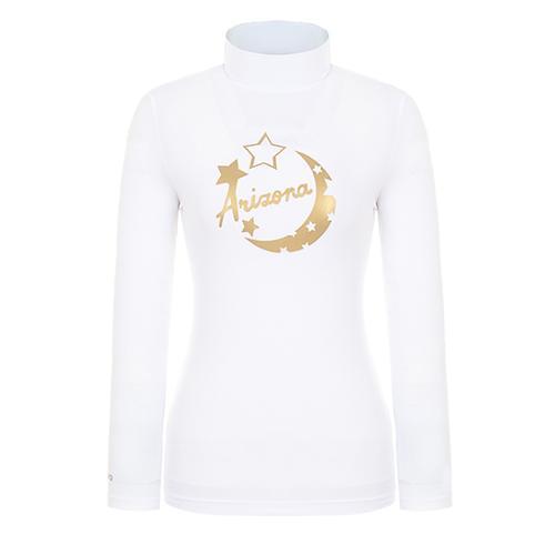 [핑]여성 프린티드 냉감 베이스 티셔츠 12291TI958_WH