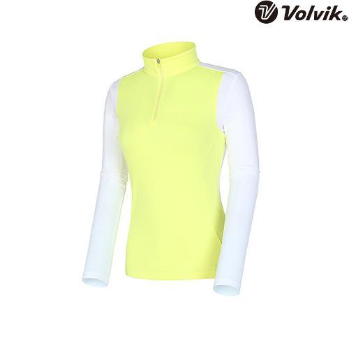 [볼빅브이닷] 여성 투반 티셔츠 VLTSI202_YE