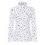 [핑]여성 올오버 별 프린트 이너 티셔츠 12281TI959_WH