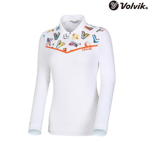 [볼빅브이닷] 여성 오로라볼빅 티셔츠 VLTSI301_WH