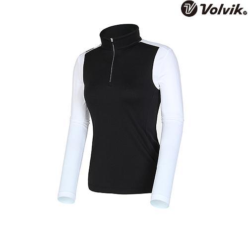 [볼빅브이닷] 여성 투반 티셔츠 VLTSI202_BK
