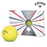 2019 캘러웨이 슈퍼소프트 골프공 12알 옐로우 골프볼 CALLAWAY SUPER SOFT BALL