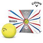 2019 캘러웨이 슈퍼소프트 매그나 골프공 12알 옐로우 골프볼 CALLAWAY SUPER SOFT MAGNA BALL
