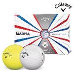 2019 캘러웨이 슈퍼소프트 매그나 골프공 12알 화이트볼 옐로우볼 골프볼 CALLAWAY SUPER SOFT MAGNA BALL