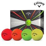 캘러웨이 슈퍼핫 볼드 골프공 12알 멀티칼라 골프볼 골프용품 CALLAWAY SUPER HOT BOLD BALL