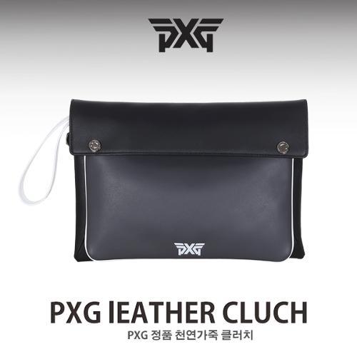 PXG 천연가죽 클러치