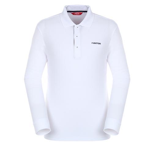 [팬텀]남성 캐주얼 포인트 카라 티셔츠 21271TO901_WH