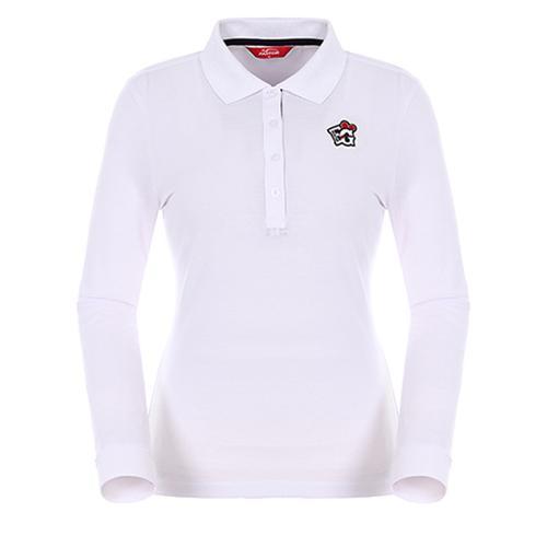 [팬텀]여성 베이직 포인트 카라 티셔츠 22271TO951_WH