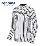 [레노마골프]여성 스트라이프 카라 티셔츠 RWTYG5112-100