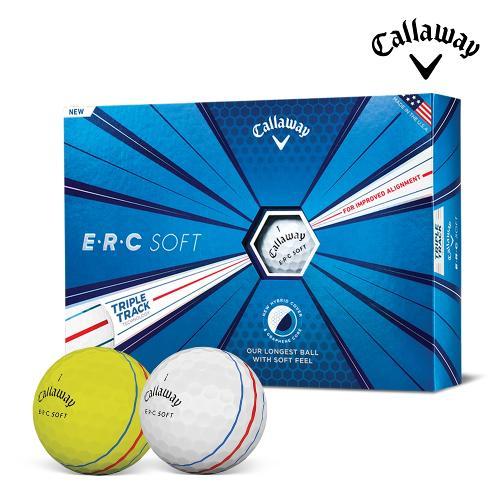 캘러웨이정품 ERC SOFT 소프트 골프공 3피스 12알