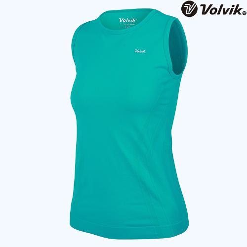 [볼빅브이닷] 여성 심리스 민소매 티셔츠 VLTSH361_MT