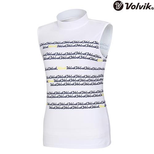[볼빅브이닷] 여성 플로잉볼빅 민소매 티셔츠 VLTSH562_WH
