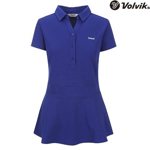 [볼빅브이닷] 여성 에리변형 반팔 티셔츠 VLTSH474_RB