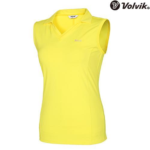 [볼빅브이닷] 여성 에리변형 민소매 티셔츠 VLTSH560_LY