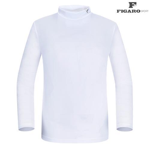 ★[피가로스포츠] 남성 반목 UV차단 티셔츠 FAMTE060M_WH