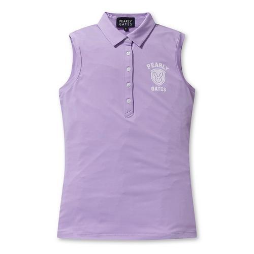 [파리게이츠]여성 로고 배색 민소매 카라 티셔츠 52292TS953_VO