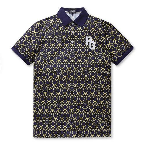 [파리게이츠]남성 올오버 스마일 바니 카라 티셔츠 51292TS903_NA