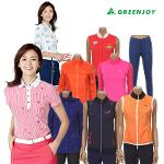 GREENJOY[그린조이] 여성 골프의류 BEST 모음전 티셔츠/점퍼/조끼/바지