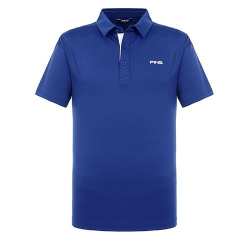[핑]남성 메쉬 믹스 솔리드 반팔 티셔츠 11292TO902_DL