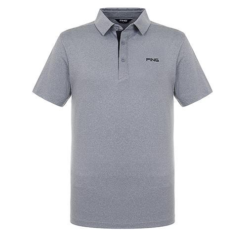 [핑]남성 메쉬 믹스 솔리드 반팔 티셔츠 11292TO902_MG