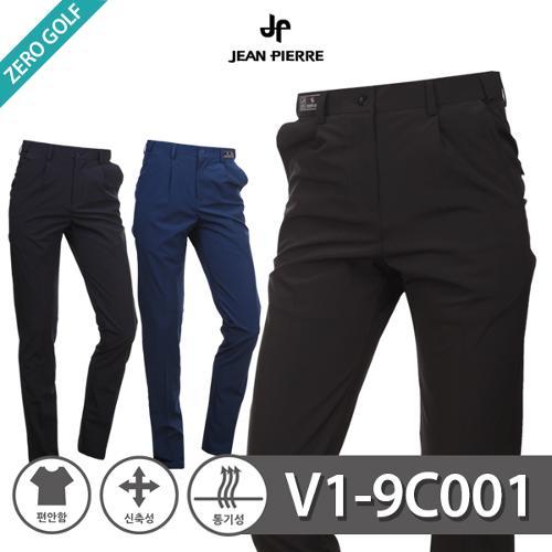 [JEAN PIERRE] 쟌피엘 베이직 숨김밴드 골프팬츠 Model No_V1-9C001