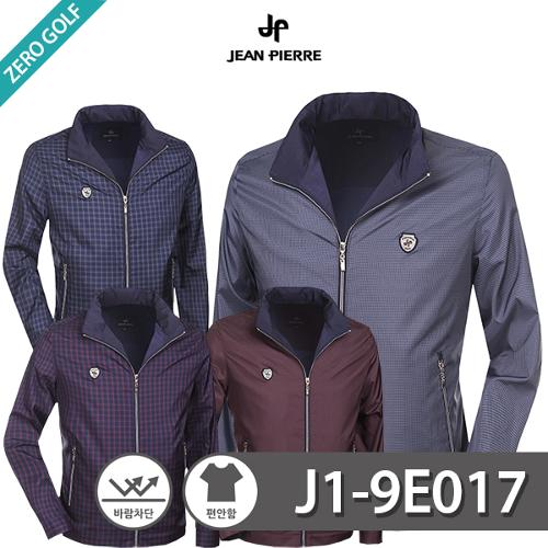 [JEAN PIERRE] 쟌피엘 체크 풀집업 자켓 Model No_J1-9E017