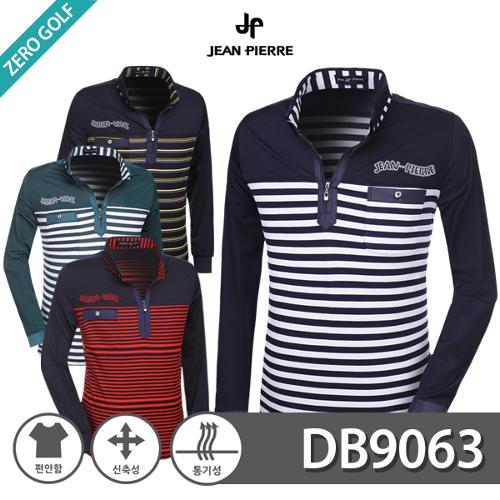 [JEAN PIERRE] 쟌피엘 배색 스프라이트 하프집업 긴팔티셔츠 Model No_DB9063