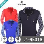 [JEAN PIERRE] 쟌피엘 레이온 하프집업 긴팔티셔츠 Model No_J1-9E018