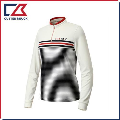 커터앤벅 여성 스판 긴팔티셔츠 - PB-11-191-201-04