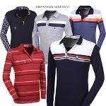 [쟌피엘] 매일 입고 싶은 긴팔 카라 신상티셔츠 6종 택일