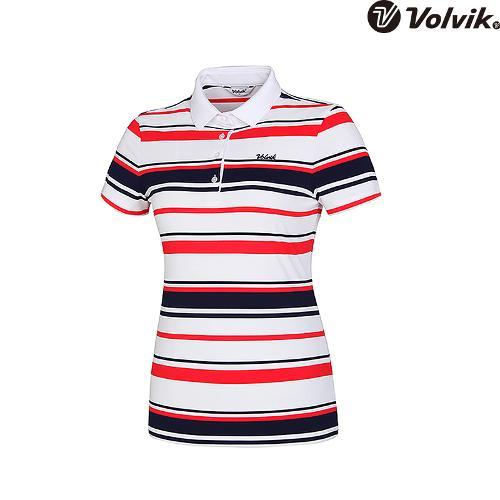 [볼빅브이닷] 여성 뎅깡 요꼬 반팔 티셔츠 VLTSH557_RE